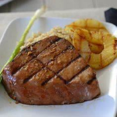 Grilled Teriyaki Tuna Steaks with  - 400 Tasty Tuna Recipes - RecipePin.com