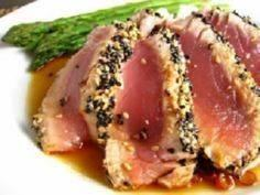 Juicy Seared Tuna Steak Recipe - 400 Tasty Tuna Recipes - RecipePin.com