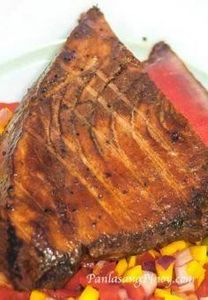 Grilled Ahi Tuna Recipe - Panlasan - 400 Tasty Tuna Recipes - RecipePin.com