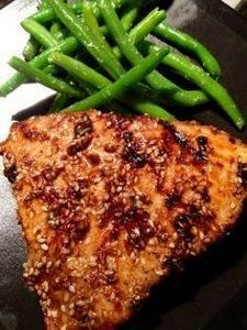 Asian Sesame Grilled Tuna Steak (T - 400 Tasty Tuna Recipes - RecipePin.com