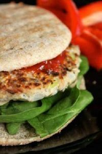 Lemon Thyme Tuna Burgers - 400 Tasty Tuna Recipes - RecipePin.com