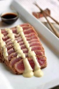 Seared Ahi... Going to have to loo - 400 Tasty Tuna Recipes - RecipePin.com