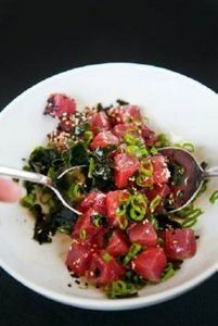 Tuna Poke by userealbutter. Recipe - 400 Tasty Tuna Recipes - RecipePin.com