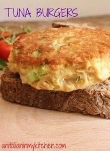 Tuna Burgers, who needs meat when  - 140 Canned Tuna Recipes - RecipePin.com