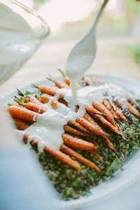Grilled Carrots with Horseradish Y - 165 Vegetarian Recipes - RecipePin.com