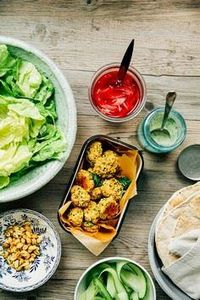 spring onion falafel with millet + - 385 Veggie Swaps Recipes - RecipePin.com