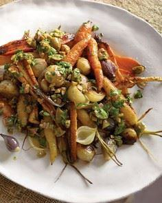 Roasted Carrots, Parsnips, and Sha - 385 Veggie Swaps Recipes - RecipePin.com