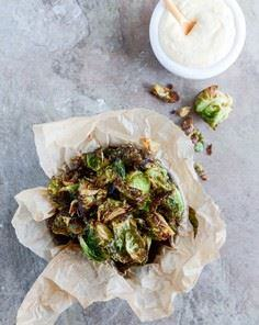Fried Brussels Sprouts with Smoky  - 385 Veggie Swaps Recipes - RecipePin.com
