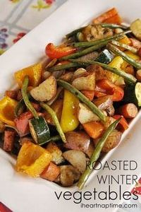 Roasted vegetables...yummy! - 385 Veggie Swaps Recipes - RecipePin.com