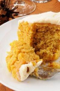 COCONUT-FLOUR PUMPKIN CAKE - 285 Appetizing Wheat Belly Recipes - RecipePin.com