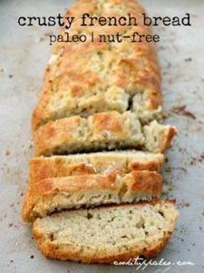 Paleo French Bread (nut-free) with - 285 Appetizing Wheat Belly Recipes - RecipePin.com