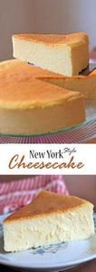 New York Style Cheesecake is cream - 285 Appetizing Wheat Belly Recipes - RecipePin.com
