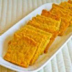 Almond Flour Cheese Crackers - I m - 285 Appetizing Wheat Belly Recipes - RecipePin.com
