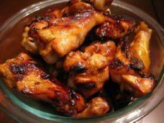 Honey-Garlic Chicken Wings and 15  - 285 Appetizing Wheat Belly Recipes - RecipePin.com