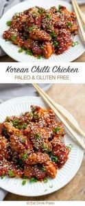 Korean Style Spicy Chicken (Paleo  - 285 Appetizing Wheat Belly Recipes - RecipePin.com