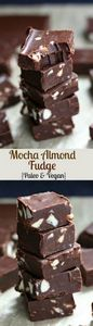 Mocha Almond Fudge - Paleo and veg - 285 Appetizing Wheat Belly Recipes - RecipePin.com