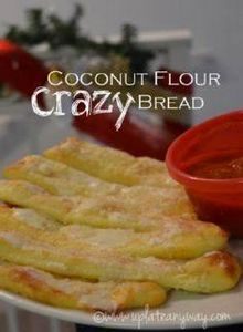 Crazy Bread » Low Carb » Gluten Fr - 285 Appetizing Wheat Belly Recipes - RecipePin.com