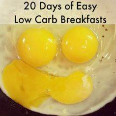 20 Low Carb Breakfast Ideas - 285 Appetizing Wheat Belly Recipes - RecipePin.com