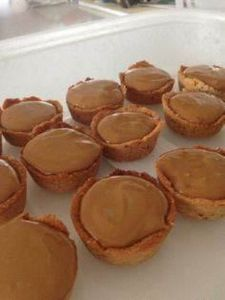 Paleo-Caramel-Tartlets 4 tablespoo - 285 Appetizing Wheat Belly Recipes - RecipePin.com