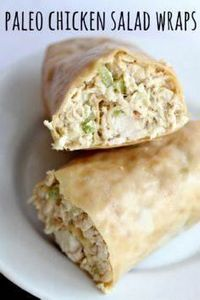 Paleo Wraps will change your world - 285 Appetizing Wheat Belly Recipes - RecipePin.com