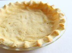 Coconut Flour Pie Crust #glutenfre - 285 Appetizing Wheat Belly Recipes - RecipePin.com