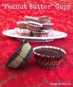 Paleo Peanut Butter Cups (Grain Free, Nut Free, Dairy Free, Egg Free) - Gutsy By Nature - 285 Appetizing Wheat Belly Recipes - RecipePin.com