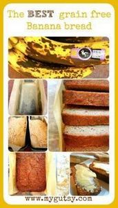 Coconut Flour Banana bread - 285 Appetizing Wheat Belly Recipes - RecipePin.com