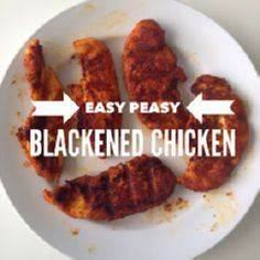 Pinterest for Dinner: Blackened Ch - 285 Appetizing Wheat Belly Recipes - RecipePin.com