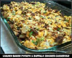potato chicken casserole - 285 Appetizing Wheat Belly Recipes - RecipePin.com