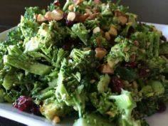 A LIGHTER BROCCOLI SALAD — LIVINPA - 285 Appetizing Wheat Belly Recipes - RecipePin.com