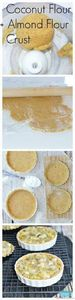Grain Free pie crust made with alm - 285 Appetizing Wheat Belly Recipes - RecipePin.com