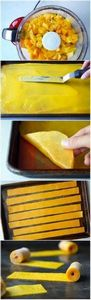 Healthy Homemade Mango Fruit Roll- - 285 Appetizing Wheat Belly Recipes - RecipePin.com