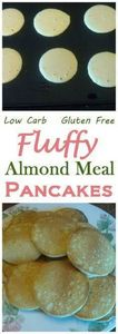 A nice fluffy gluten free pancake  - 285 Appetizing Wheat Belly Recipes - RecipePin.com