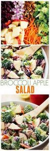 This Broccoli Apple Salad will be  - 285 Appetizing Wheat Belly Recipes - RecipePin.com
