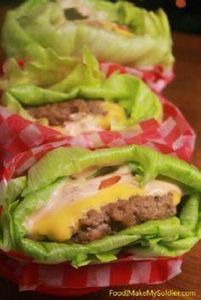 Lettuce Wrapped Cheeseburgers- thi - 285 Appetizing Wheat Belly Recipes - RecipePin.com