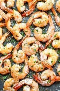 Garlic Parmesan Roasted Shrimp - T - 285 Appetizing Wheat Belly Recipes - RecipePin.com