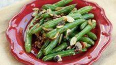 Green Beans with Almonds and Bacon - 285 Appetizing Wheat Belly Recipes - RecipePin.com