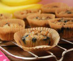 Banana Blueberry Paleo Muffins  3/ - 285 Appetizing Wheat Belly Recipes - RecipePin.com