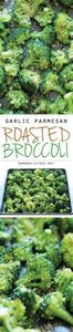 Garlic Parmesan Roasted Broccoli - - 285 Appetizing Wheat Belly Recipes - RecipePin.com