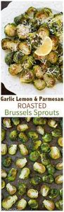 Garlic Lemon and Parmesan Roasted  - 285 Appetizing Wheat Belly Recipes - RecipePin.com