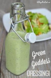 Green Goddess Dressing recipe on 1 - 285 Appetizing Wheat Belly Recipes - RecipePin.com