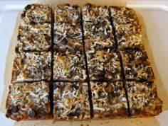 Magic Coconut Bars-- grain free! N - 285 Appetizing Wheat Belly Recipes - RecipePin.com
