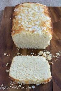 Sugar Free Lemon Coconut Pound Cak - 285 Appetizing Wheat Belly Recipes - RecipePin.com