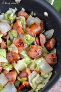 Kielbasa and Cabbage Skillet - get - 285 Appetizing Wheat Belly Recipes - RecipePin.com