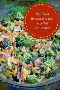 This Broccoli Salad recipe is a pe - 285 Appetizing Wheat Belly Recipes - RecipePin.com