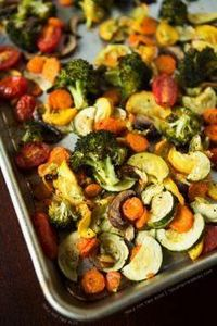 Roasting Vegetables - 1 lg head br - 285 Appetizing Wheat Belly Recipes - RecipePin.com