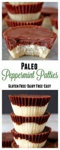 Paleo Peppermint Patties- only 5 i - 285 Appetizing Wheat Belly Recipes - RecipePin.com