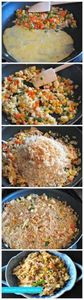 Weeknight Chicken Fried Rice. - 60 Wok Recipes - Popular Stir-Fry and Wok Recipes - RecipePin.com