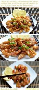 Lemon Chicken (Chinese Style) - Cl - 60 Wok Recipes - Popular Stir-Fry and Wok Recipes - RecipePin.com