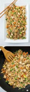 Chicken Fried Rice - better than t - 60 Wok Recipes - Popular Stir-Fry and Wok Recipes - RecipePin.com